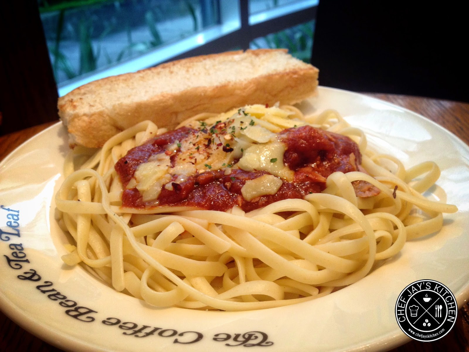 The Coffee Bean & Tea Leaf - CBTL Spicy Tuna Linguine