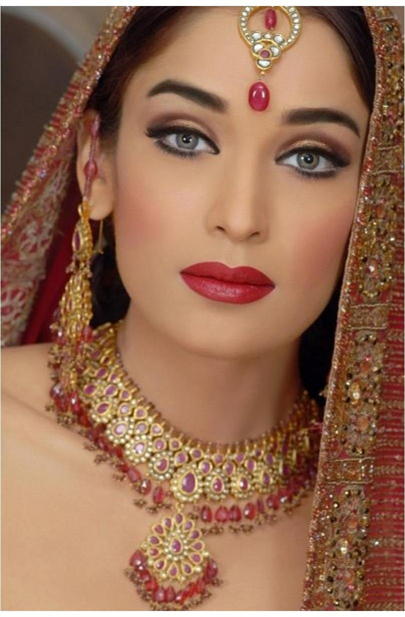 Beautiful Wedding Makeup Pictures : World Complete Fashion For Girls: Beautiful Pakistani ...