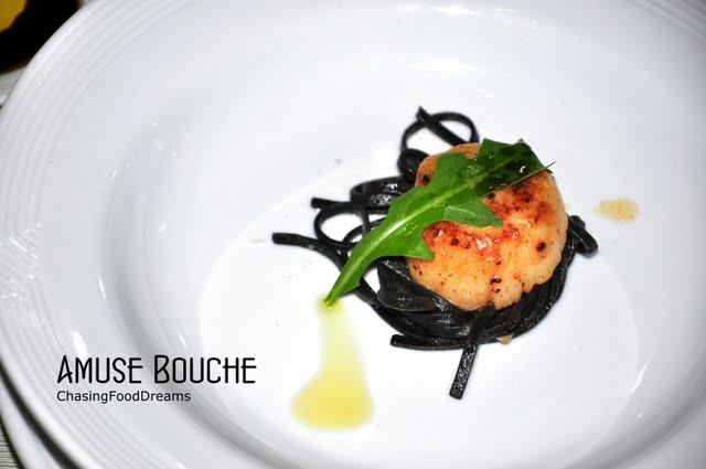 Chasing food dreams senja italian restaurant the saujana - Amuse gueule italien ...