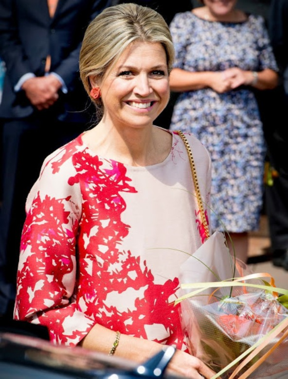 Queen Maxima Attended A Concert In Utrecht
