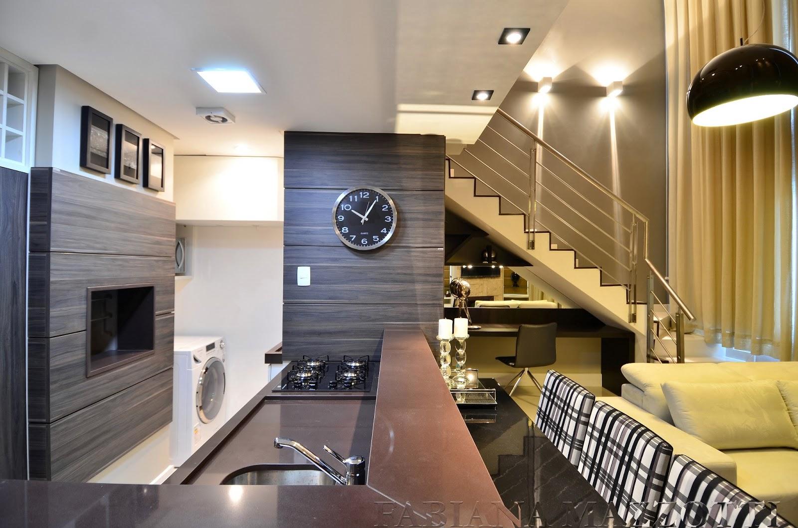 Fabiana Mazzotti Arquitetura & Interiores: LOFT Porto Alegre Beleza  #987733 1600 1059