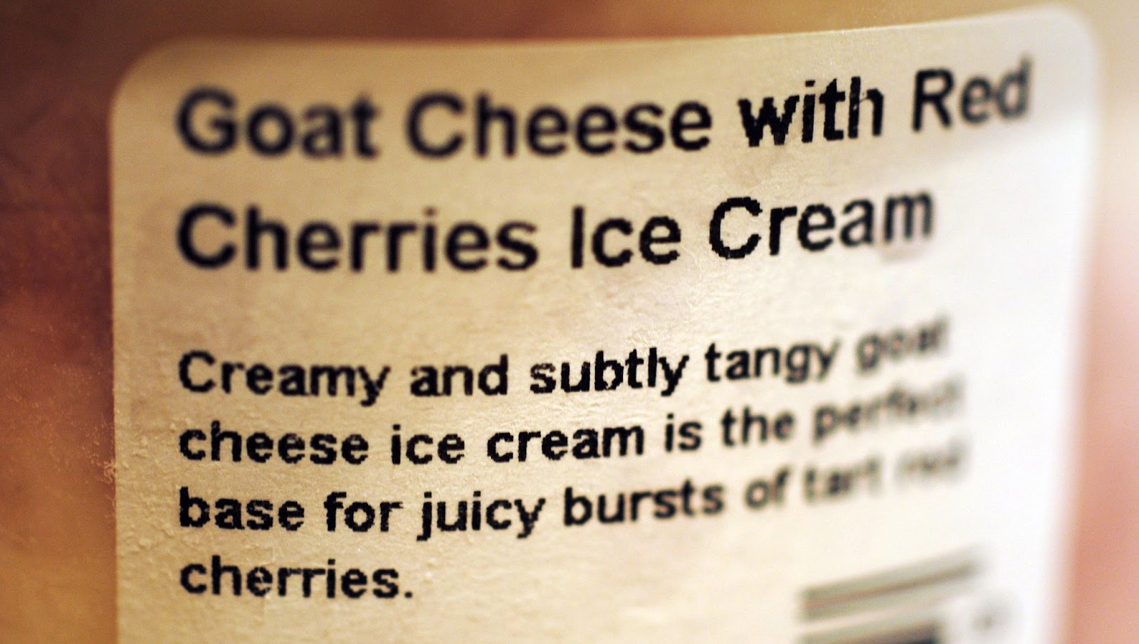 The Ice Cream Informant: REVIEW: Jeni's Splendid Goat Cheese With Red ...