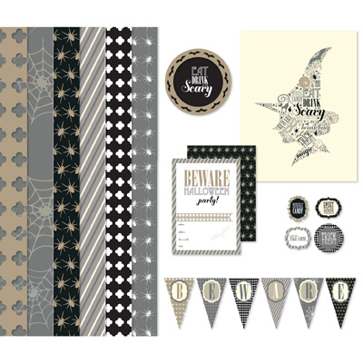 Stampin' Up! Sophisticated Spooks Ensemble