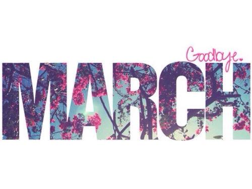 Resultado de imagem para Adeus Março
