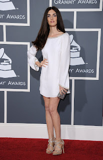 Paz Vega at the Grammys