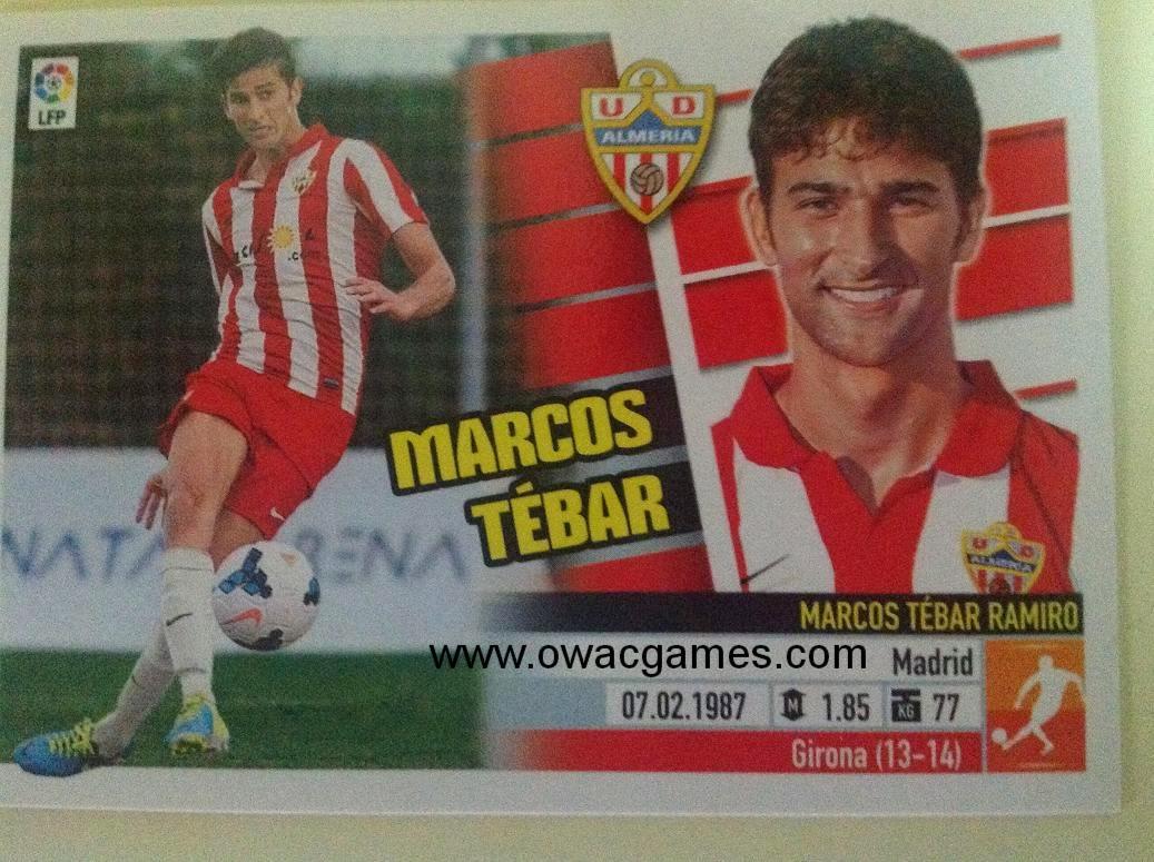Liga ESTE 2013-14 Almeria 8B - Coloca - Marcos Tébar