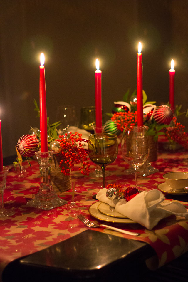 christmas table decorations - How To Decorate A Christmas Table