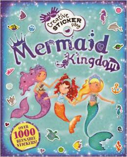 Mermaid Kingdom: Over 1000 Reusable Stickers!