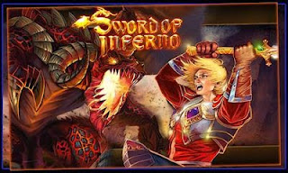 Screenshots of the Sword of Inferno for Android tablet, phone.