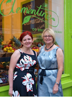 Jan McTaggart and Carole Sommerville joint proprietors of Clementine of Broughty Ferry