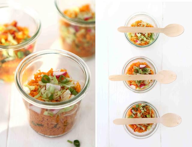 spicy radish couscous salad