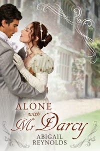 Book cover - Alone with Mr Darcy by Abigail Reynolds