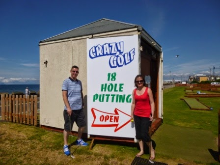 Mini Golf course in Ayr