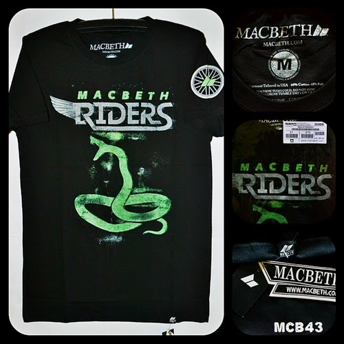 Kaos Surfing MACBETH Kode MCB43