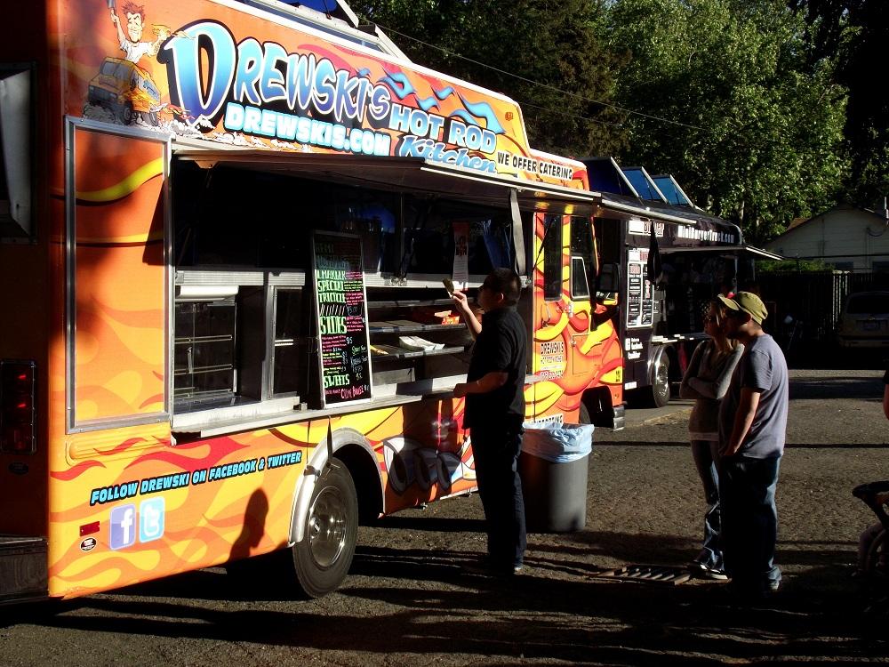 Drewski Hot Rod Kitchen Food Truck