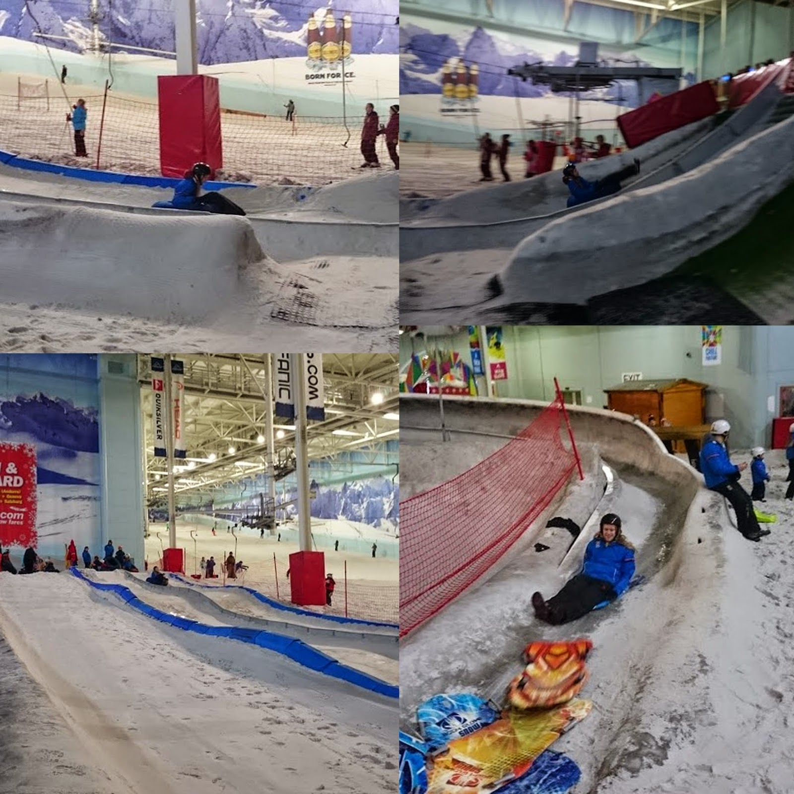 Snow Play for 6 year olds at Chill Factore in Manchester