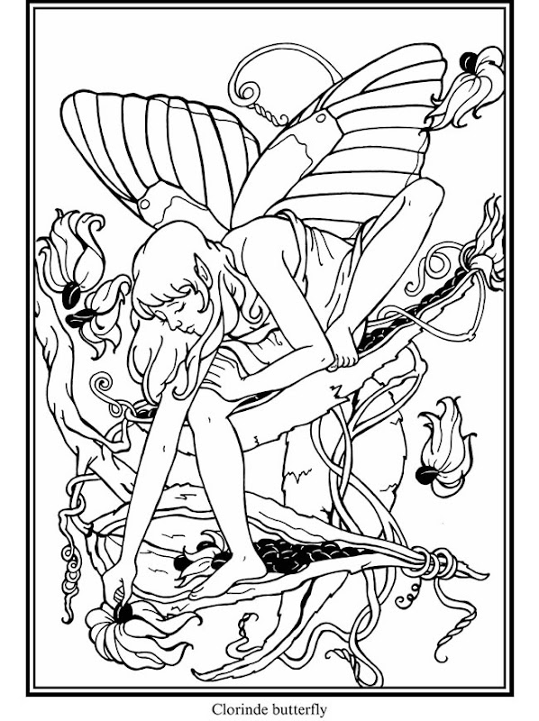 Free Coloring pages from Dover. title=