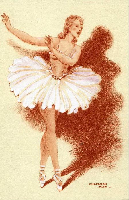 Картинки с балериной для открыток 946