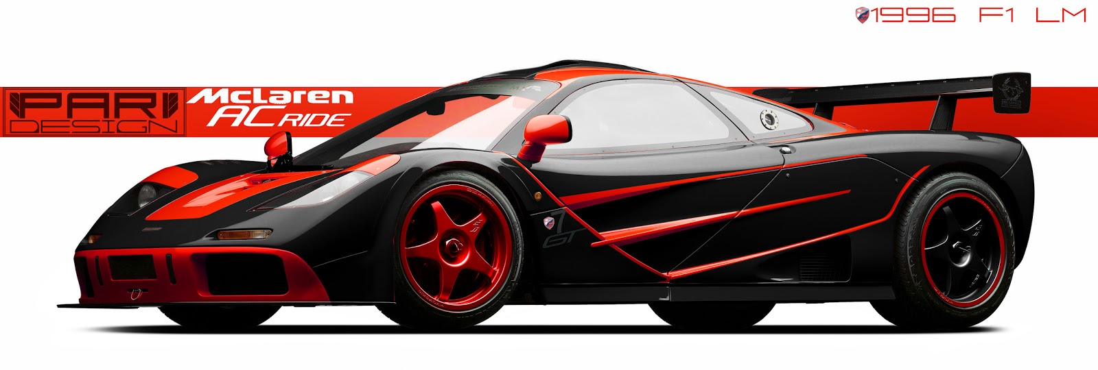 mclaren f1 lm black. now this is a perfect ride the 1996 mclaren f1 lm so how blackred combination on beast looking mclaren lm black