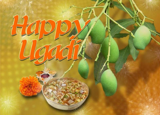 Ugadi Wallpaper Greetings, Mango