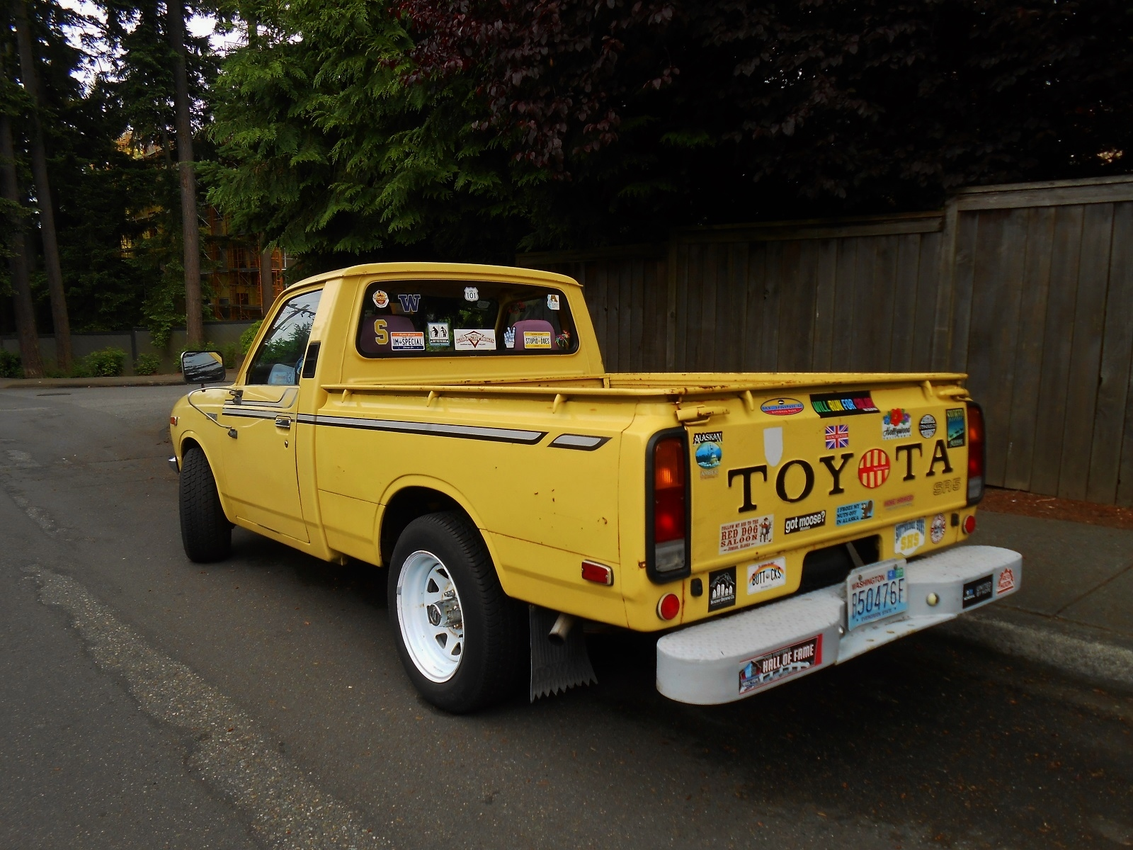 seattle's parked cars 1977 toyota sr5 pickup 1983 toyota pickup wiring diagram 1977 toyota sr5 pickup