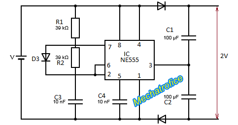 Rc Time Constant And Diode Detector additionally Mini Audio  lifier together with BWljcm93YXZlLW92ZW4tc2NoZW1hdGljLWRpYWdyYW0 also Frequency Multiplier Circuit With 555 further Index108. on voltage doubler circuit
