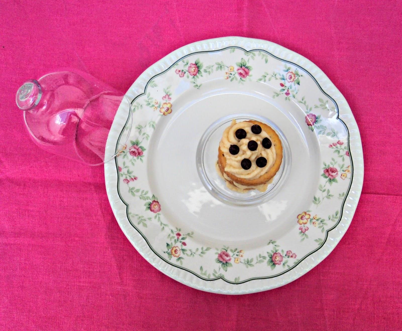 Tarta de galletas Príncipe con crema pastelera, receta casera de Olor a hierbabuena