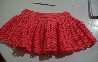 Curso de tejido a mano: Falda de hilo en crochet