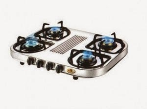 Shopclues: Buy Bajaj CX10D 4 Burner Cooktop with Rs. 62 Clue Bucks at Rs. 3023