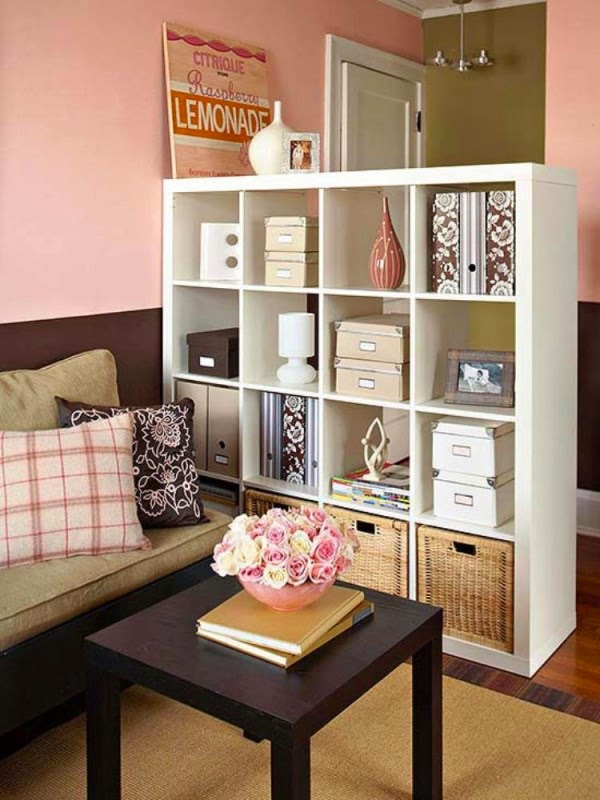 15 functional living room shelving ideas and units for Living room units