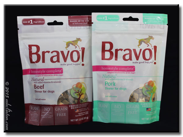Bravo! Pork and Beef Freeze-Dried Dog Food