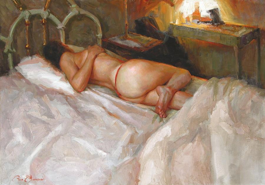 Ron Barsano - American Figurative painter