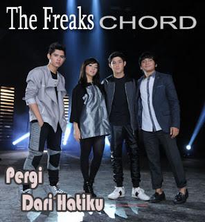 Chord/Kunci Gitar dan Lirik Lagu The Freaks (Aliando Syarief, Nikita Willy, Calvin Jeremy,Teuku Rasya) - Pergi Dari Hatiku