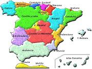 COMUNIDADES AUTÓNOMAS Y PROVINCIAS DE ESPAÑAMAPAS (mapa espaã±a comunidades)
