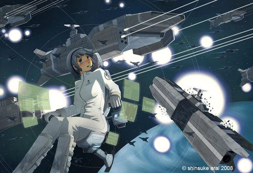 Space por dead-robot