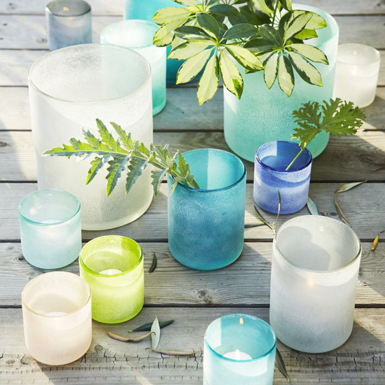Iheart Organizing Diy Sea Glass Vases