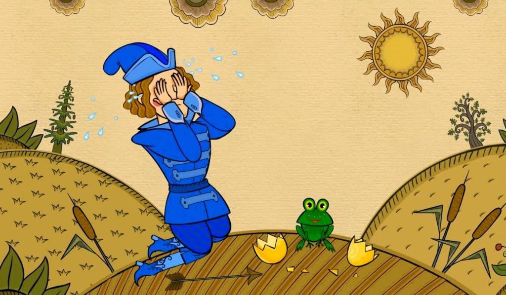 Теперь же на лягушке жениться придётся!