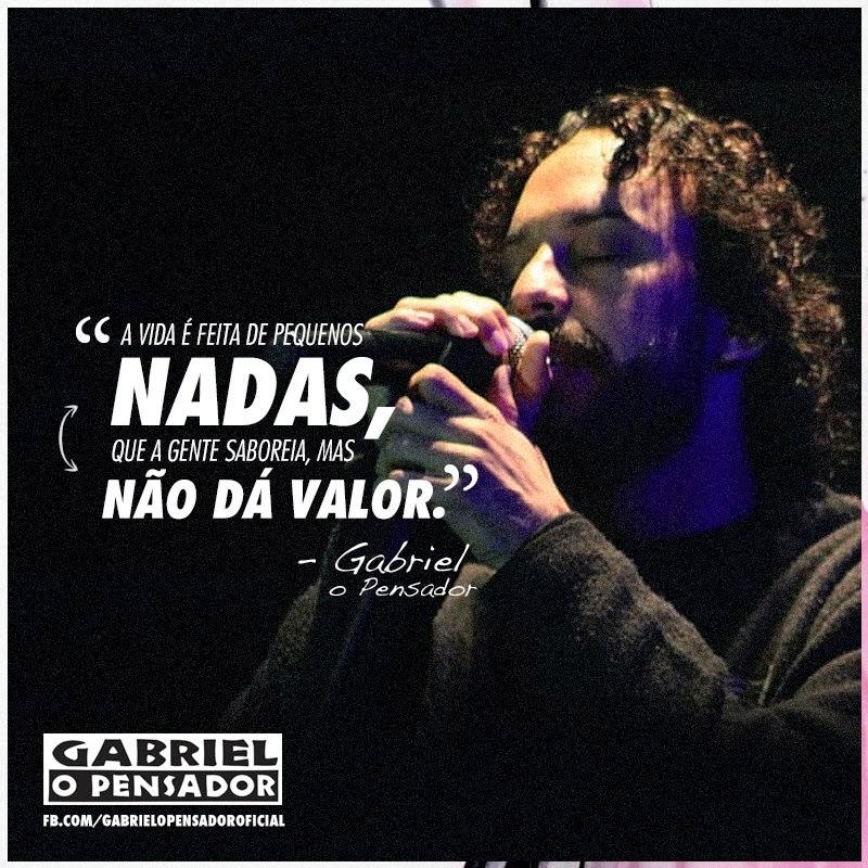Se Liga Aí Fã Clube Oficial Gabriel O Pensador Frases Gabriel O