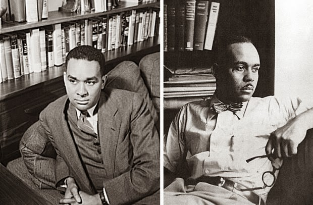 richard wright s blues richard wright left and ralph ellison right