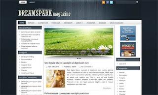 Dreamspark WordPress Theme