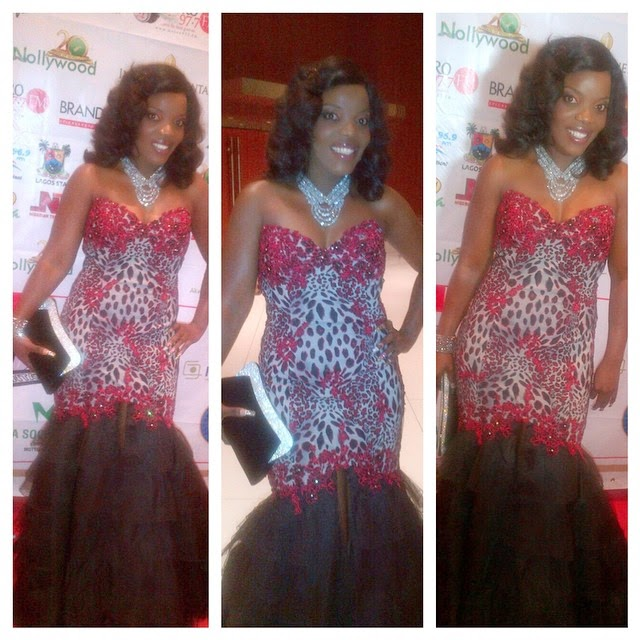 Empress Njamah's Gorgeous Dress