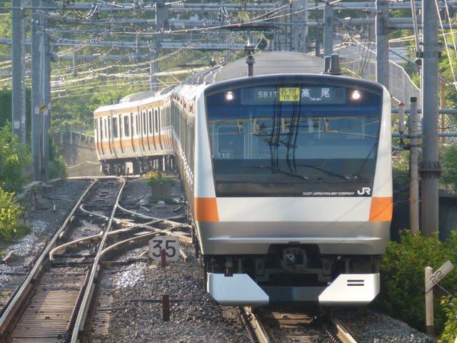 中央線各駅停車 高尾行き E231系(平日7本運行)