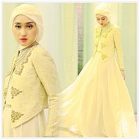 Foto Baju Muslim Dian Pelangi Kuning