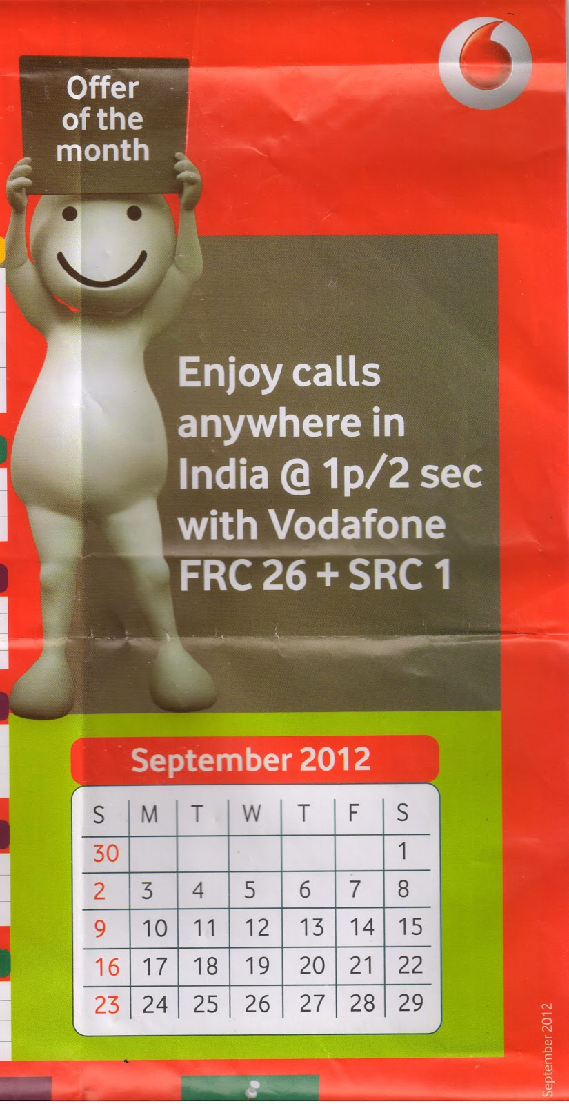 Free recharge coupons for vodafone postpaid