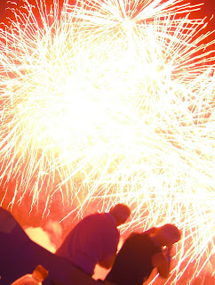 Fireworks Dubai-style