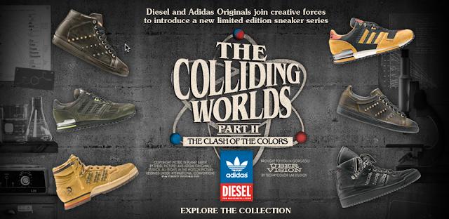 Adidas X Diesel Shoes
