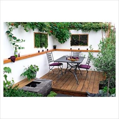 Um jardim para cuidar quer ideias para o seu p tio - Patios pequenos ...