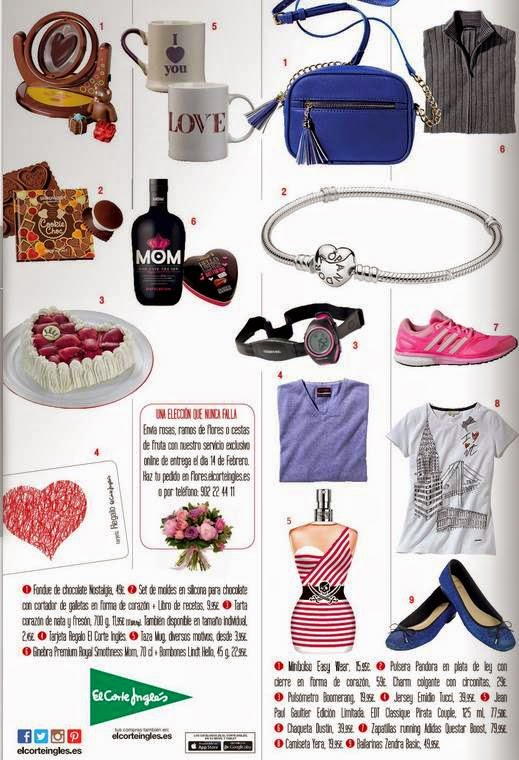 Ideas de regalos 2015 eci San Valentin