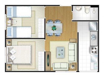Como organizar e otimizar o espa o em locais pequenos for Como organizar un apartamento muy pequeno