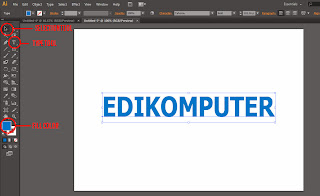 Tutorial Membuat Text 3D di Adobe Illustrator 1